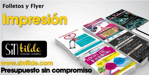 folletos y flyers