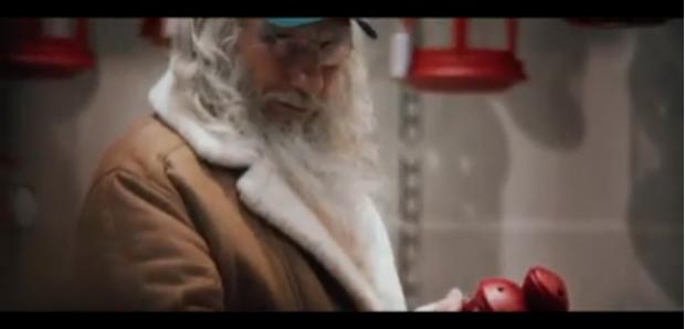 Papá Noel de compras en IKEA